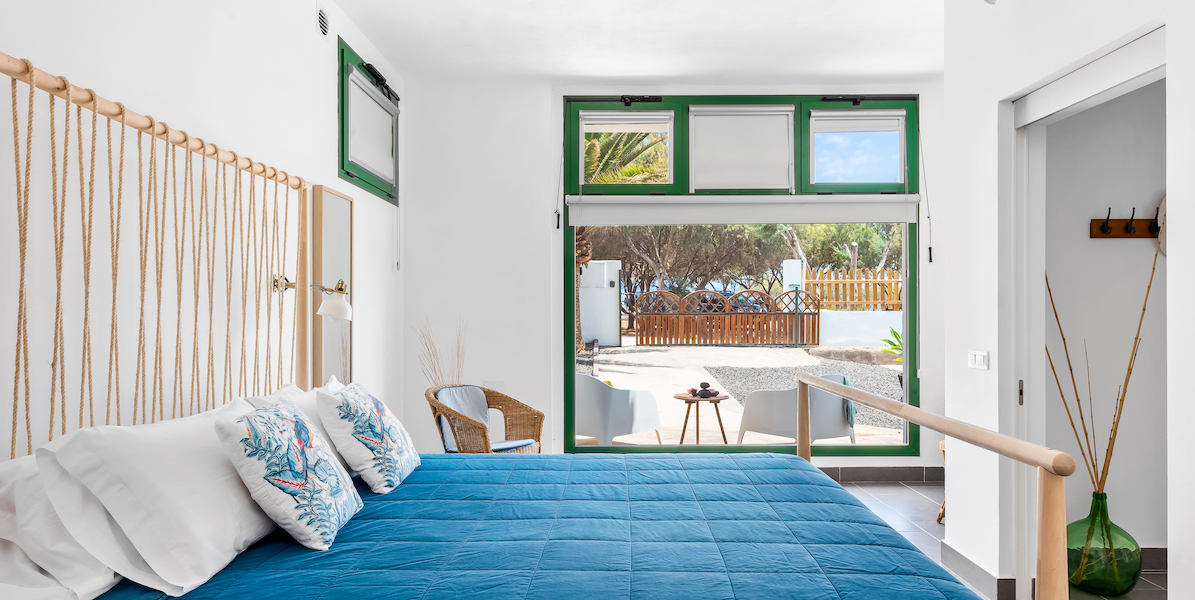 Seabreeze apartment in Tenerife Hamlet large double bed